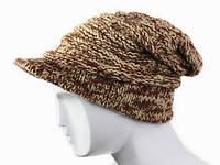 Зимняя мужская шапка с козырьком