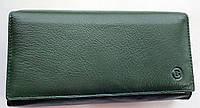 Женский кожаный кошелек с визитницей Balisa 140-1013 зеленый Кожаные кошельки оптом, фото 1