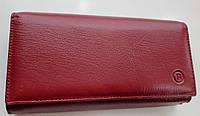 Женский кожаный кошелек с визитницей Balisa 140-1013 красный Кожаные кошельки оптом, фото 1