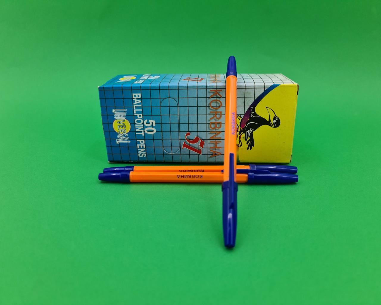 Шариковая ручка Corvina - 51  син. (50 шт)