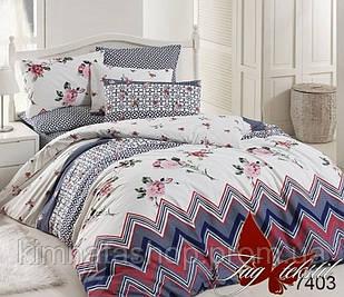 ТМ TAG Комплект постельного белья с компаньоном R7403