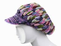 Женская кепка зимняя