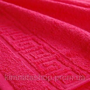 ТМ TAG Полотенце махровое Amaranth 100% хлопок 50*90 см- Рушник махровий бавовна