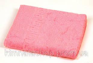 ТМ TAG Полотенце махровое Pink dark хлопок 100% 50*90 см - Рушник махровий бавовна