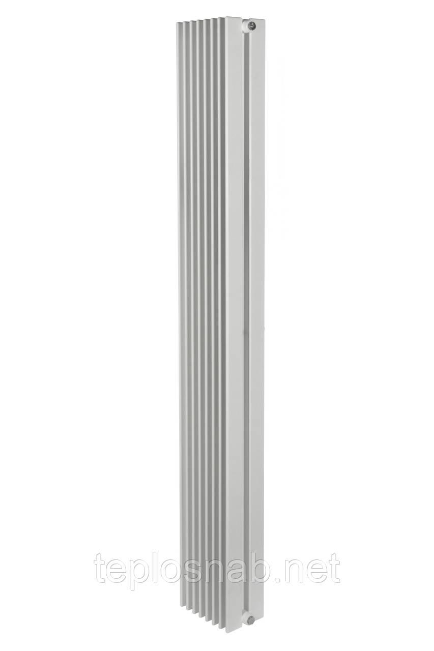 Вертикальный радиатор Metrum2, H-1800 мм, L-255 мм