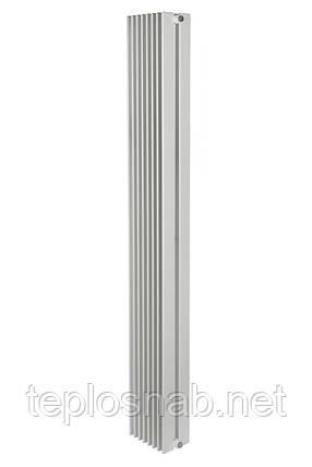 Вертикальный радиатор Metrum2, H-1800 мм, L-255 мм, фото 2