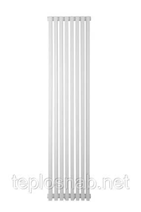 Вертикальный трубчатый радиатор BQ Quantum H-1500 мм, L-325 мм, фото 2