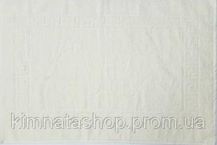 ТМ TAG Полотенце махровое для ног молочное 50х70 см 100% хлопок - Рушник махровий бавовна
