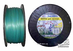 Леска для триммера КВАДРАТ TM VIROK 2.7 мм x 350 м