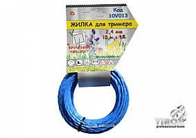 Леска для триммера Витой КВАДРАТ TM VIROK 2.7 мм x 15 м