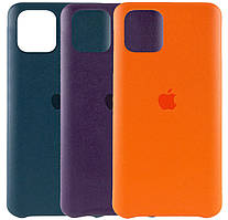 Кожаный чехол AHIMSA PU Leather Case Logo (A) для IPhone 11