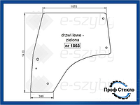 Стекло Deutz-Fahr Agrofarm Tier 3 410 420 430, Agrofarm 85G 100G 115G левая дверь