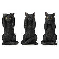 Коллекционная статуэтка Veronese Кошки (не говорю, не вижу, не слышу)