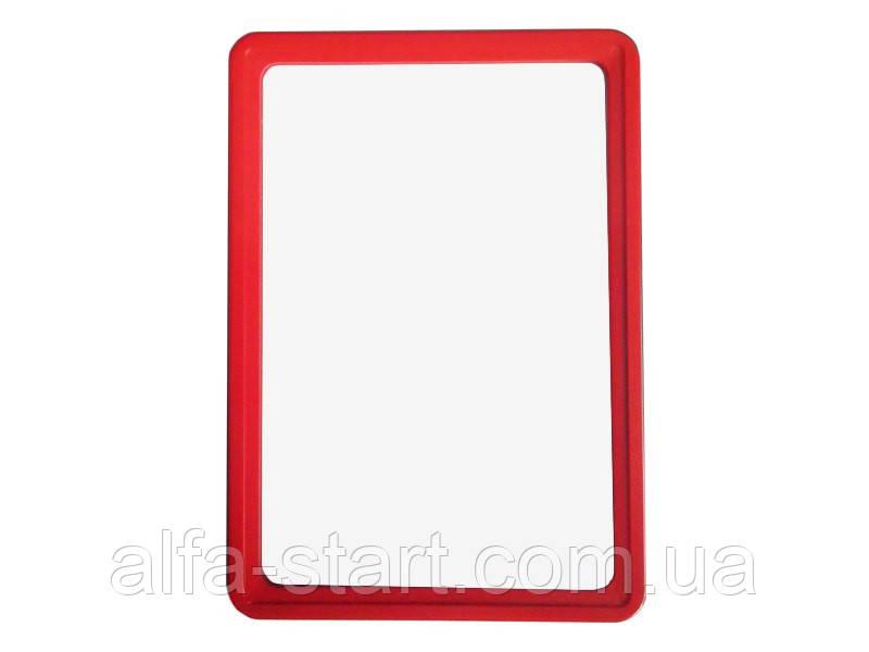 Пластикова рамка для інформаційних табличок і цінників формат А5
