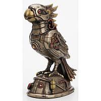 Коллекционная статуэтка Veronese Попугай Стимпанк WU77706A4