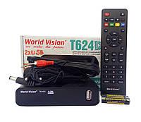Т2 тюнер World Vision T624D3+ прошивка