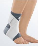 Бандаж голеностопный с эластичным бинтом Medi protect. Leva strap