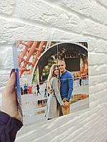 Фотокубик на 6 фото 20х10 см - оригинальный подарок девушке, парню, жене, мужу, на День Святого Валентина