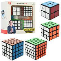Набор головоломок кубик рубика 2*2 3*3 4*4 5*5 с наклейками от Qiyi cube