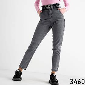 Жіночі джинси баггі темно-сірі 1-3460