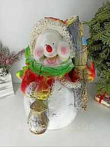Снеговик Желаю счастья 40 см