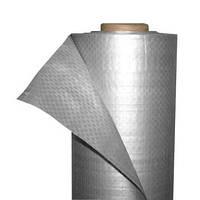 Пленка гидроизоляционная Н 75 СИ 1,5 м х 50 м серебристая