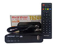 Т2 тюнер World Vision T624M2 + прошивка IPTV каналов