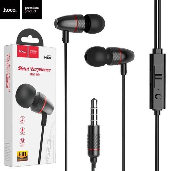 Дротові навушники Hoco M1 Pro Type-C з мікрофоном, кнопкою відповіді і регулюванням гучності