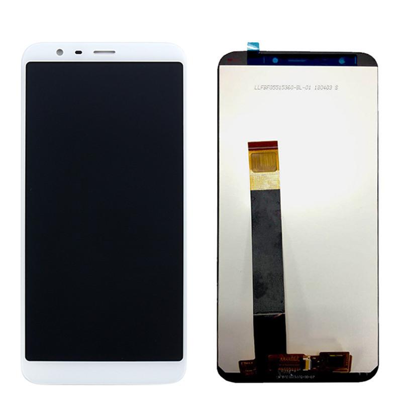 Дисплей (LCD) Meizu M8c | M810h | M809l з тачскріном, білий, оригінал (PRC)