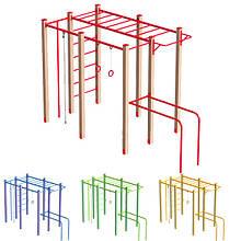 """Гімнастичний комплекс """"Робін-лайт"""" DIO672.1 для Дитячого Ігрового Майданчика."""