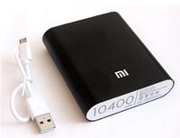 Павербанк PowerBank Xiaomi MI 10400 mAh ЧЕРНЫЙ (100)