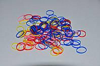 Резинки тонкие пластиковые для африканских косичек