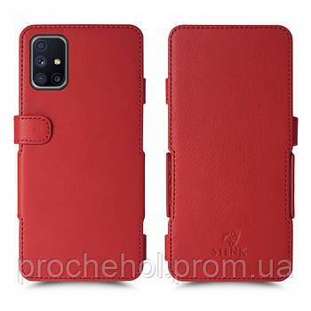 Чехол книжка Stenk Prime для Samsung Galaxy M51 Красный