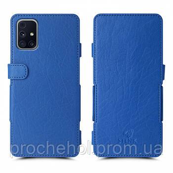 Чехол книжка Stenk Prime для Samsung Galaxy M31s Ярко-синий
