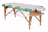 Массажный стол ASF Miracle plus cream/green