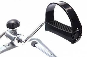 Портативный педальный тренажер Supretto Easy Серый (5631), фото 2