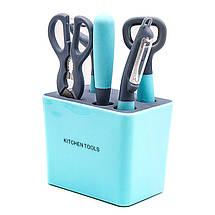 Набор кухонных инструментов из нержавеющей стали., фото 3