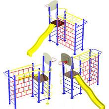 """Гімнастичний комплекс """"Тарзан 2"""" DIO670.1 для дитячого і спортивного майданчика."""