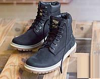 Зимове взуття Shamrock - Black Hi-Top (Зимние кеды\ботинки\обувь\тимберленд)