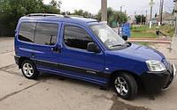 Рейлинги Citroen Berlingo/Peugeot Partner 1996-2008/Qashqai /Хром /Abs/крепление клей, фото 1