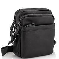 Мужская сумка через плечо черная Tiding Bag 6027A, фото 1