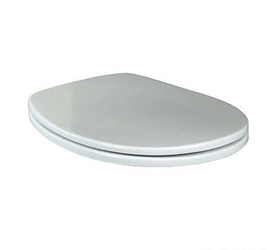 OMNIA CLASSIC крышка, цвет белый/крепления из латуни