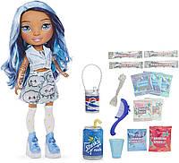Кукла Радуга Рейнбоу Хай 36 см Голубая Леди Скай Poopsie Rainbow High Blue Skye