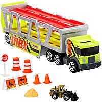 Трейлер Автовоз на 20 машин от Mattel Хот Вилс Matchbox MBX Construction Hauler