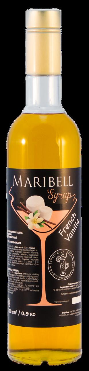 Сироп Французька Ваніль Maribell 900 г