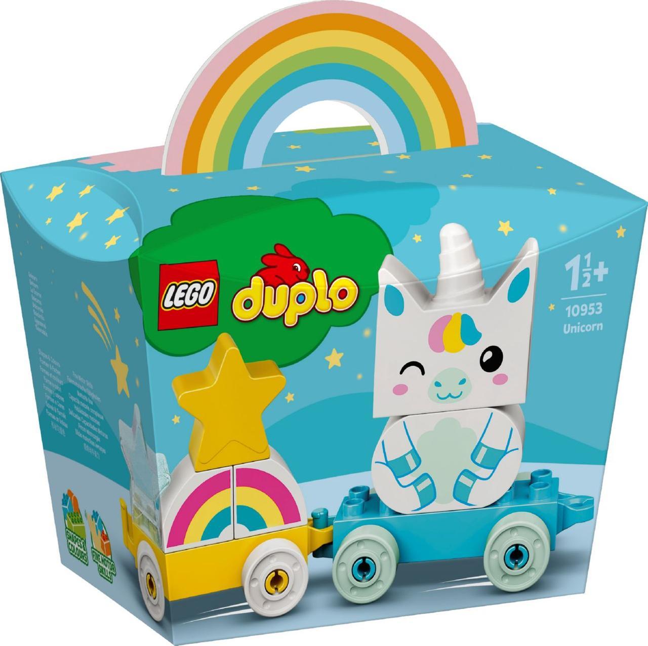 Детский Конструктор Lego Duplo Единорог 10953