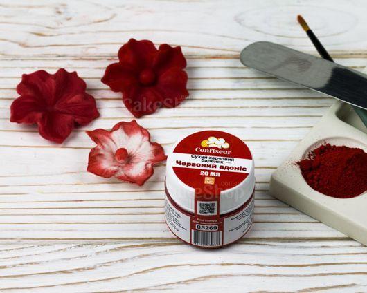 Краситель сухой Confiseur Красный адонис