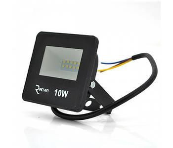 Прожектор уличный Ritar (RT-FLOOD10A/02937) 10W, 12xSMD2835, IP65, 1000Lm, 6500K