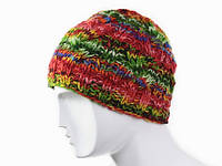Крутая вязанная шапка Ручная вязка