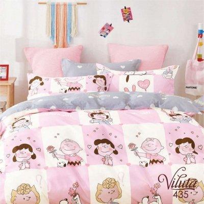 Подростковое постельное белье Viluta Сатин Твил 435 Полуторный SKL53-276726